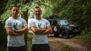"""Balkan Express-Rallye: André und Stefan sammeln auch Spenden für """"Menschen für Wölfe"""""""