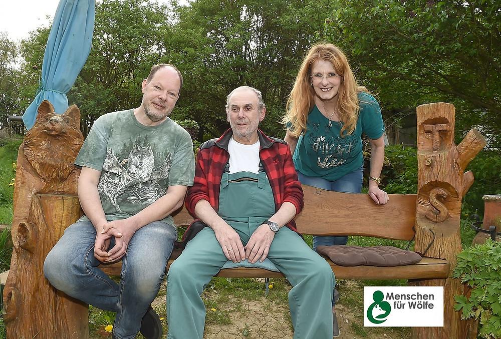 Toni Seiler mit Brigitte Sommer und Volker Vogel