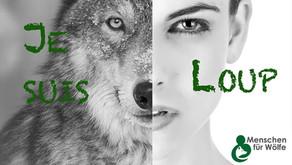 """Europa-Kampagne mit neuem Button von """"Menschen für Wölfe"""""""