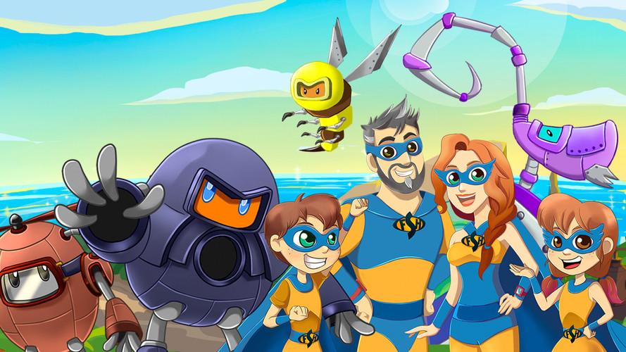 Super Family Hero