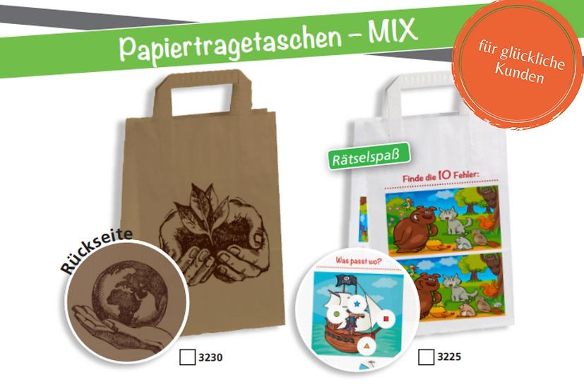 AKTION Papiertragetaschen-Mix