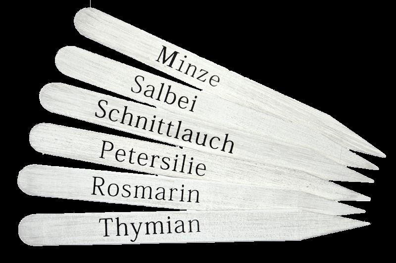 """Pflanzstecker """"Kräuter"""""""