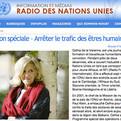 Edition spéciale – Arrêter le trafic des êtres humains