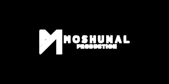 Moshunal Production - Main Logo - White.