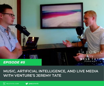 #5: Music, AI, and Live Media with Venture's Jeremy Tate