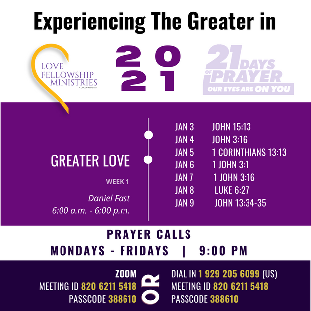 2021 LFM Fasting and Prayer - Week 1 Gui