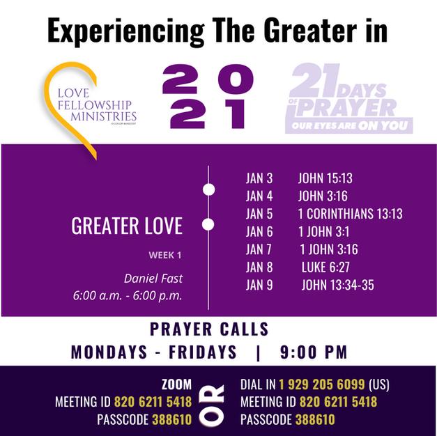 2021 LFM Fasting and Prayer - Week 1 Gui