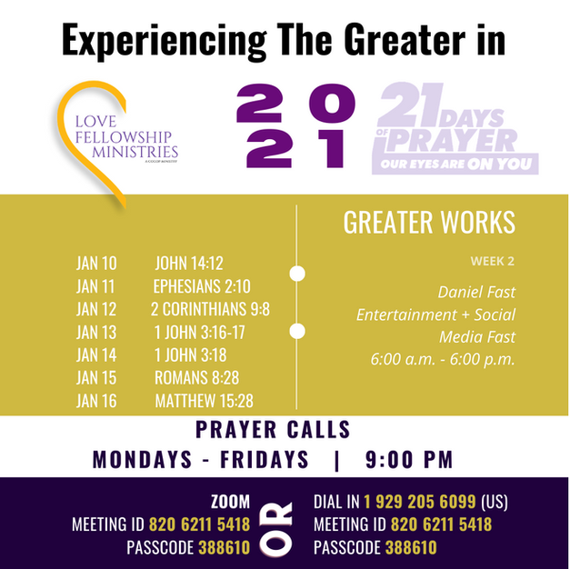 2021 LFM Fasting and Prayer - Week 2 Gui