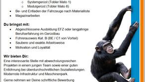 Gerüstmonteure / innen - Mach dich nicht zum Affen - komm zu uns....