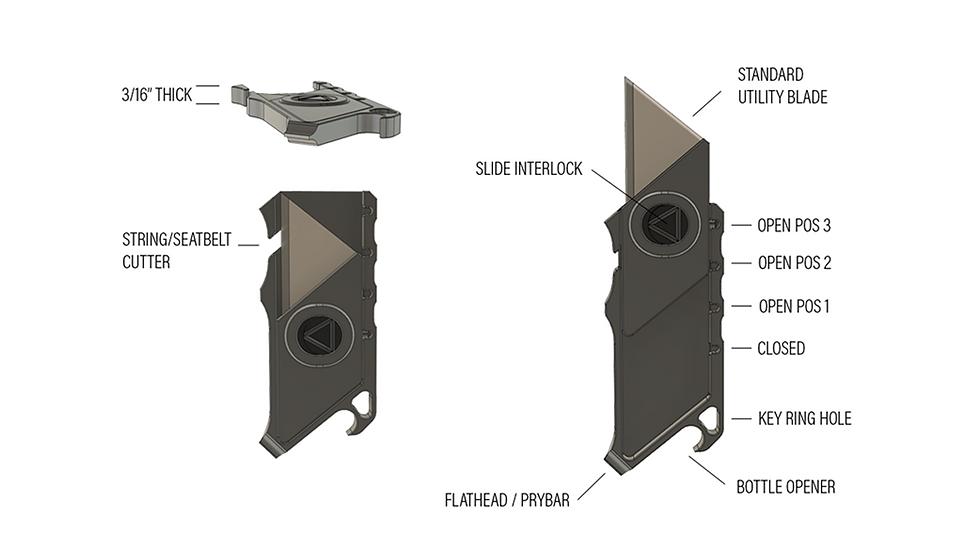 Talon - Keychain Utility Knife