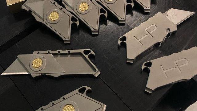 Talon - Titanium Keychain Utility Knife