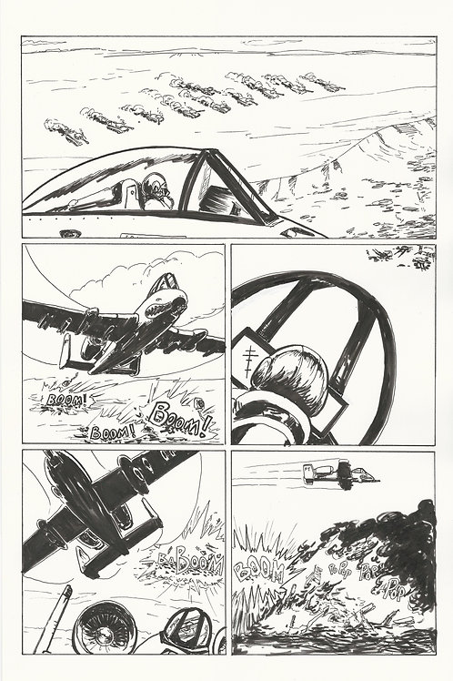 Original Page from Tiger on the Storm #2