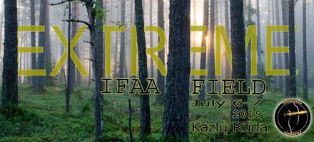 Registracija į IFAA Field Extreme 2019
