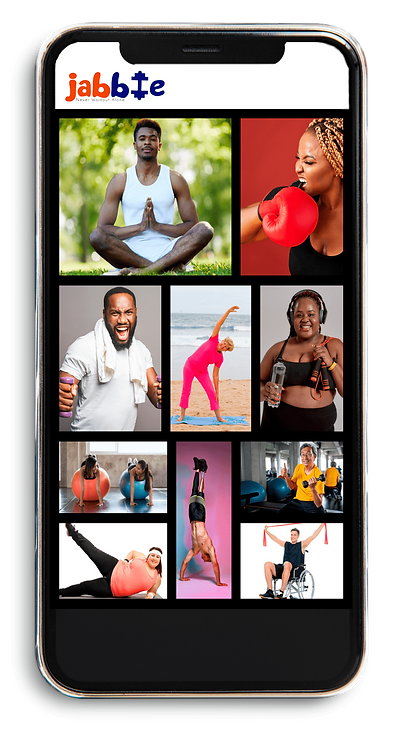 Jabbie App screen