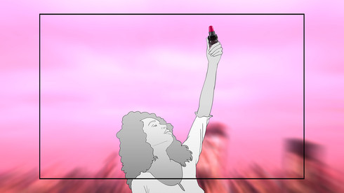 Storyboard Pink First 037
