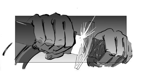 Storyboard Zatoichi Next! 0017
