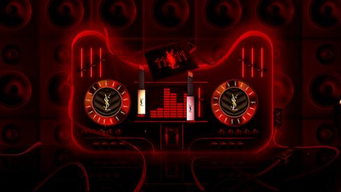 TMALL 11x11  Black Friday. Design pour Yves Saint Laurent avant de passer à l'image 3d.