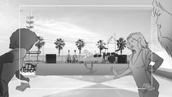 Storyboard YSL Shine Volupté Rouge 035