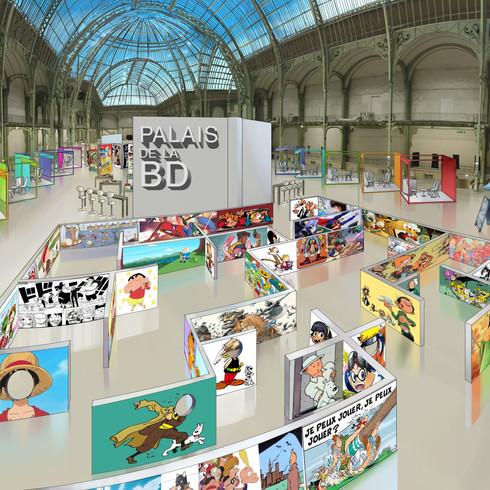 """Le Grand Palais de la BD """"Labyrinthe Enfant"""""""