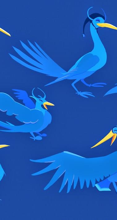 P SI Dream Bird Concept