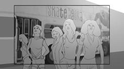 Storyboard YSL Shine Volupté Rouge 032