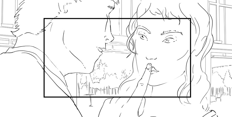 "Storyboard ""Secret Story"" 04"