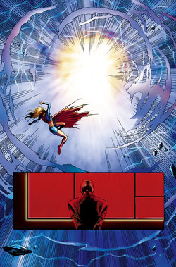 supergirl#4120 coloured by Alenz