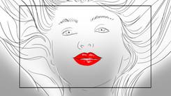 Storyboard YSL Shine Volupté Rouge 043