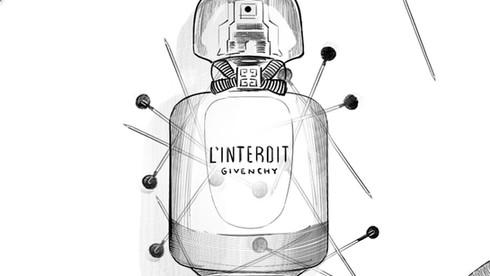 "Storyboard ""L'Interdit"" de Givenchy"
