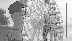 Storyboard YSL Shine Volupté Rouge 024