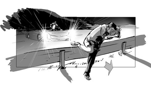 Storyboard Zatoichi Next! 0010