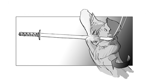 Storyboard Zatoichi Next! 0024