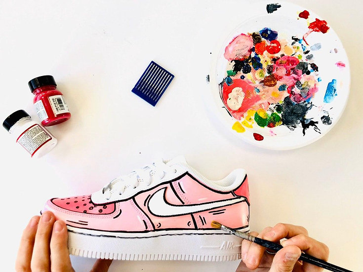 Nike Air Force PINK PASSION