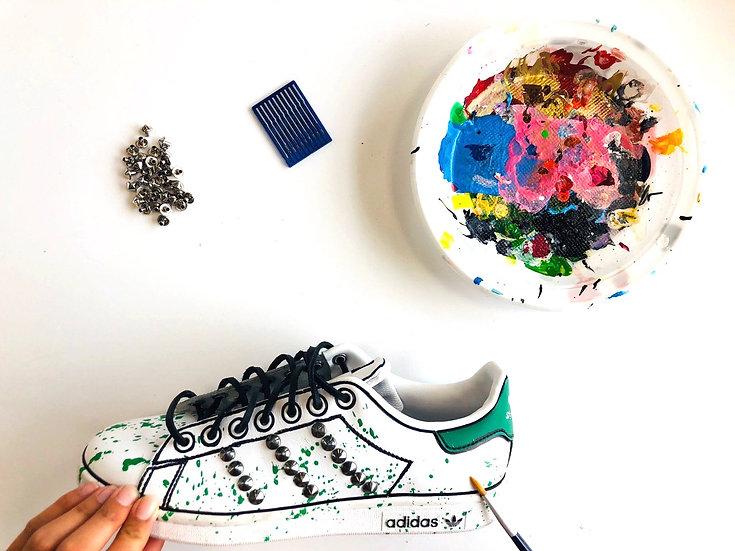 Adidas Stan Smith Green Effect