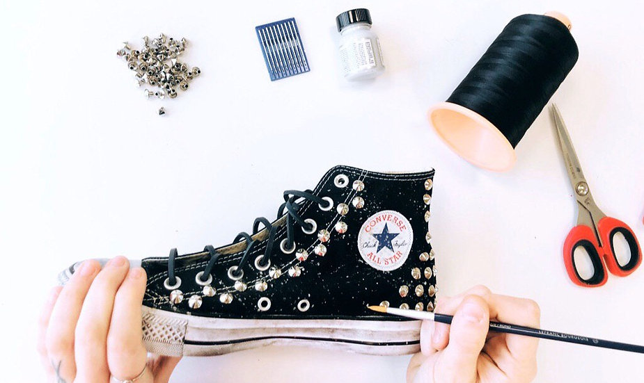 Converse All Star Painting effect