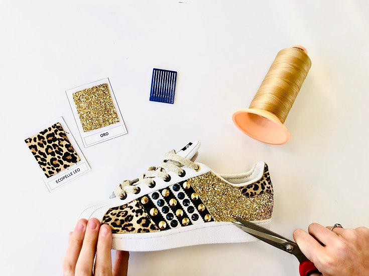 Adidas Superstar Gold & Leo