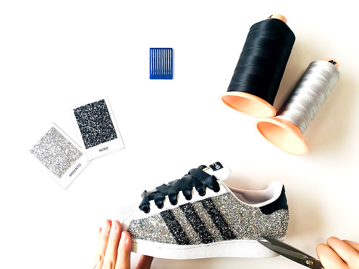 Adidas Superstar Glitter mania