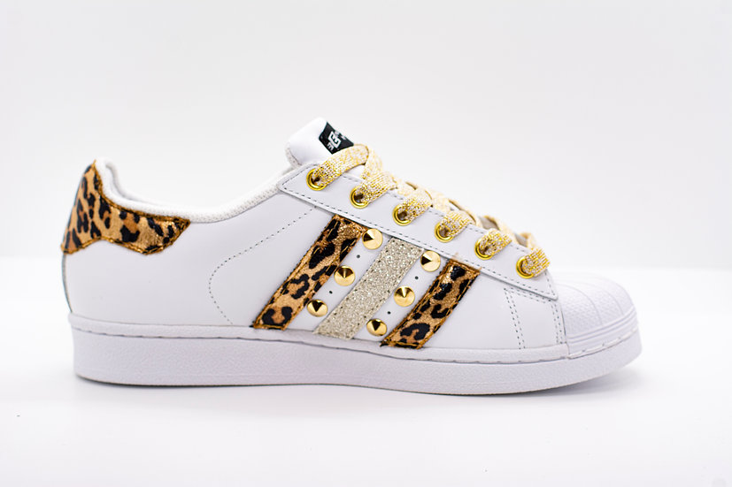 Adidas Superstar Leo & Gold