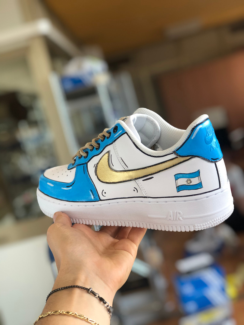 La Nike Air Force con destinazione Argentina