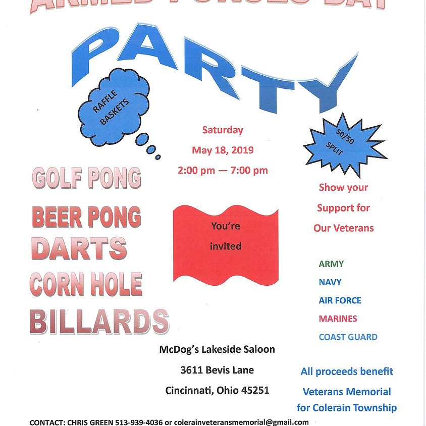 Armed Forces Day Party