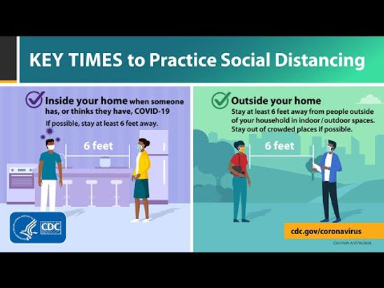 Key Time to Practice Social Distancing.j