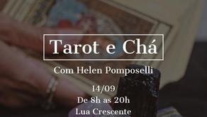 14 / setembro /2021 - Tarot e Chá com Helen Pomposelli