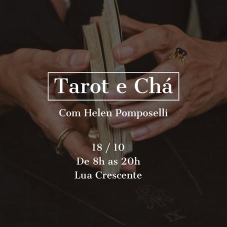 18 / outubro /2021 - Tarot e Chá com Helen Pomposelli