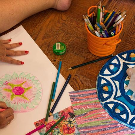 workshop: Encontros da Arte como terapia 21 e 28/01