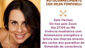 27/05 ás 19h - Roda de Autoconhecimento com Helen Pomposelli