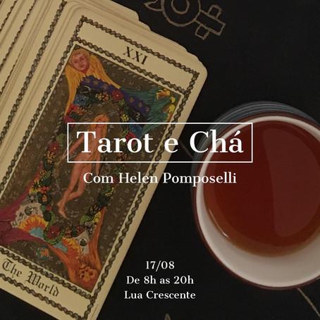 17 / agosto /2021 - Tarot e Chá com Helen Pomposelli