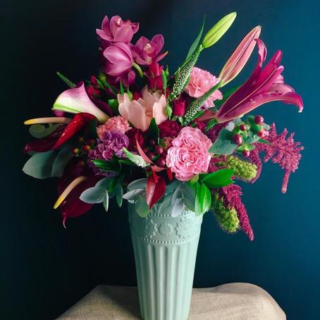 O feminino e o universo das flores - Workshop de Arranjos florais 7/03