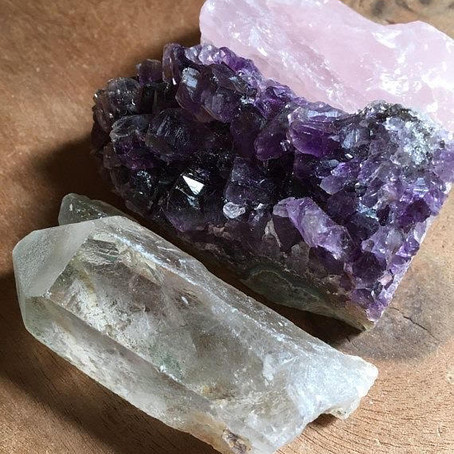 Você saber montar sua tríade de cristais?