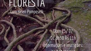 25 /julho/2021 - Banho de Floresta com Helen Pomposelli