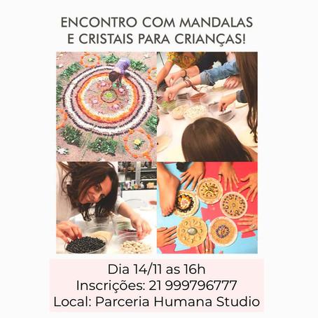 14/11/2020 - Per vivere bene Kids: Mandalas e cristais para crianças